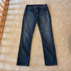 NYDJ straight leg jeans size 10